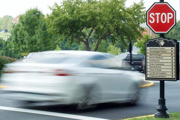 Running A Stop Sign Ticket Defense Attorney Johns Creek GA